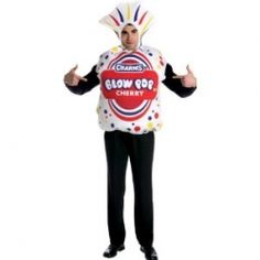 I love all kinds of candy for a sweet treat and I'm sure these Candy Costumes will be a great hit for your next Halloween or Costume Party.    Enjoy...