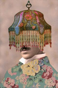 he was always the life of the party-digital collage-jlillard