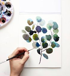 Watercolor by Bianca Rosen 🎨 . Abstract Watercolor, Watercolor Paintings, Watercolor Sketchbook, Watercolours, Art Paintings, Abstract Art, Color Of Life, Heart Art, Silver Dollar