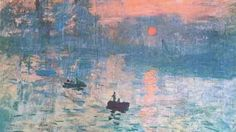 'Impression Sunrise' by Claude Monet Painting Print on Canvas Claude Monet, Claude Debussy, Different Types Of Painting, Paint Types, Types Of Art, Easy Watercolor, Watercolor Landscape, Watercolor Artists, Abstract Watercolor