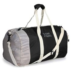 b267f42a5 Amazon.com: Travel Inspira Foldable Duffel Travel Duffle Bag Collapsible  Packable Lightweight Sport Gym