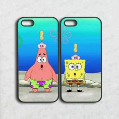 iphone 5C casespongebobpatrickbest friendsiphone 5S by BFF1828