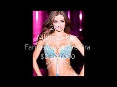 Top 10 Best Victoria's Secret Fantasy Bra (1996-2015) - YouTube