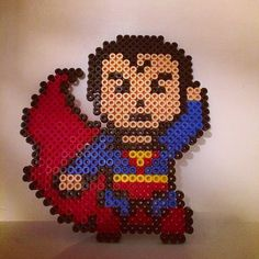 Superman perler beads by veronikaboble