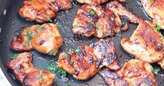 Maple Soy Glazed Chicken - Farm News Oven Roasted Chicken, Glazed Chicken, Tandoori Chicken, Bacon Pancake Dippers, Pancakes And Bacon, Glazed Sweet Potatoes, Roasted Sweet Potatoes, Apple Cider Vinegar Chicken, Skillet Cooking