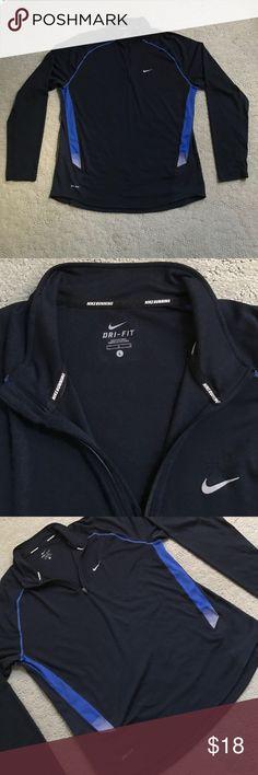 Men's NIKE✨Running Shirt NIKE Dri-Fit running, pullover. Size Large. Great condition. Nike Shirts