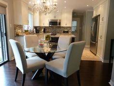 Dining room home design @ http://lightingworldbay.com #lighting