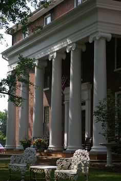 Beaumont Inn, Harrodsburg, KY. A bed and breakfast that was originally built as a women's college in 1854. Owned by the fourth generation of the Dedman family to serve as its innkeepers.
