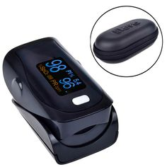 Digital Finger Pulse Oximeter WITH CASE Blood Oxygen - FREE SHIPPING