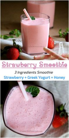 Strawberry Smoothie is a thick, creamy and delicious smoothie using strawberries which is prepared within 10 minutes and involves only 3 ingredients. Making this healthy and nutritious strawberry smoothie is the best way to enjoy strawberries during this season. This is one of the easiest way to incorporate Greek yogurt into our diet. The high protein strawberry smoothie involves three ingredients and is a best choice during morning when there is hurry. This smoothie is a perfect breakfast…