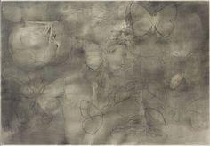 """""""Caza sutil"""" ( I ). 2006 Lápiz / papel Ricardo Cadenas"""