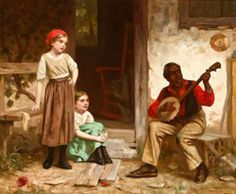 """The Banjo Player"" ... by William Penn Morgan"