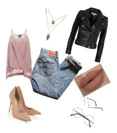 """""""Untitled #63"""" by sonrisita81 on Polyvore featuring Lipsy, Levi's, Sunday Somewhere, DailyLook and IRO"""