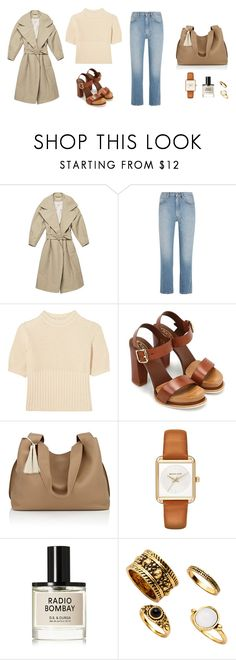 """""""Untitled #4254"""" by memoiree ❤ liked on Polyvore featuring Totême, Tod's, The Row, MICHAEL Michael Kors and D.S. & DURGA"""