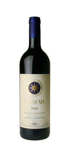 Tenuta San Guido, Bolgheri - Sassicaia 2008 (85 % Cabernet Sauvignon, 15 % Cabernet Franc) #toscana