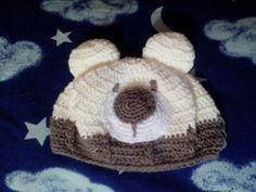 Gorro de osito Crochet