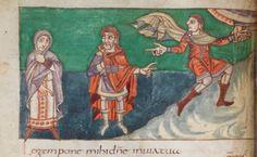 9th Century Stuttgart Psalter. Carollingian.