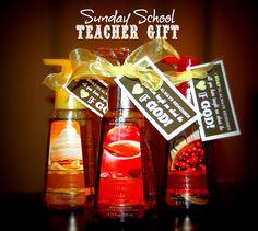 Detail-Oriented Diva!: Sunday School Teacher Gift