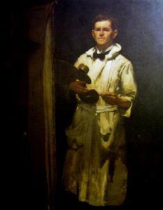 William Beckwith McInnes (Australian: 1873–1930) - Self Portrait (1920)