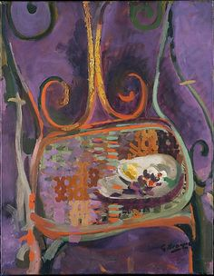 A Garden Chair Georges Braque (French, Argenteuil 1882–1963 Paris) Date: 1947–60 Medium: Oil on canvas