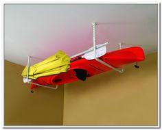 Nice Kayak Ceiling Storage Rack