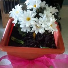 Simple and delicious home cooked recipes for flowerpot dirt cake Dirt Cake Recipes, Kid Recipes, Pie Cake, Something Sweet, Appetizers For Party, Birthday Decorations, Cake Pops, Kids Meals, Flower Pots