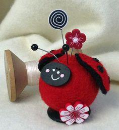 Button Buddy Pincushions ~ Lady Fair