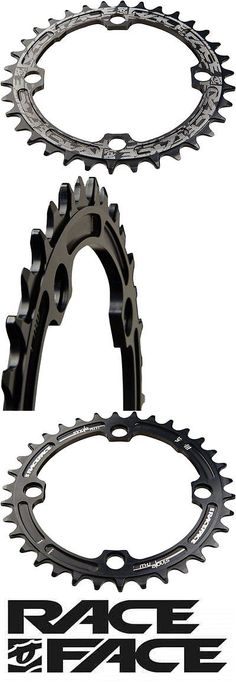 Chainrings and BMX Sprockets 177811: Race Face Narrow-Wide Single Bicycle Chain Ring 32T X 104 Black -> BUY IT NOW ONLY: $38.24 on eBay!