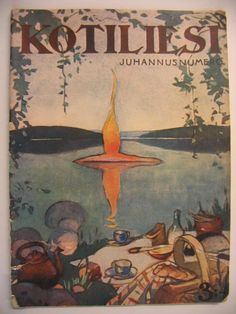 Martta Wendelin was a Finnish artist whose work was widely used to illustrate fairy tales and books, postcards, school books, magazine and book covers. Scandinavian Art, Retro Illustration, Vintage Posters, Fairy Tales, Magazine Covers, Artwork, Pictures, Birches, Painting