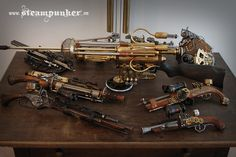 Steampunk Rifles www.steampunker.de