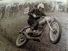 # 3 - Robert was an integral member of the group of European motocross champions who came to U.S. in the late 1960s and early '70s to help launch motocross in America. His presence helped lend credibility to America's first motocross championship.