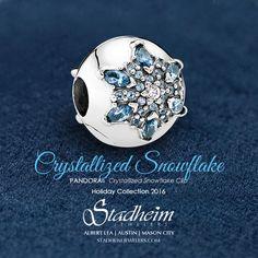 Pandora Crystallized Snowflake - Holiday Collection 2016