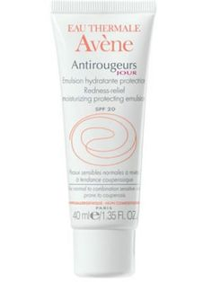 Avene Antirougeurs Jour Moisurising Emulsion SPF Avene Antirougeurs Jour Moisurising Emulsion is for normal and combination skin that experiences redness. Avene Antirougeurs Jour Moisurising Emulsion hydrates and soothes the skin, whilst the additio http://www.MightGet.com/april-2017-2/avene-antirougeurs-jour-moisurising-emulsion-spf.asp