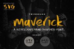 Maverick Font - Design Cuts