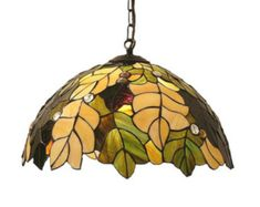 205 Tiffany estilo lámpara colgante. Lámpara de techo