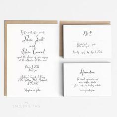 $45 Etsy listing at https://www.etsy.com/listing/233232085/printable-wedding-invitation-set-rustic