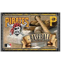 With this puzzle. When completed, the image boasts a team name on the top and a team logo helmet on the left side for the perfect display of Pirates pride! puzzle Approximately x High-quality team graphics A Team, Team Logo, Rockies Baseball, Mlb Merchandise, Pirates Baseball, Sports Marketing, Colorado Rockies, Ml B, Pittsburgh Pirates