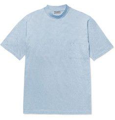 LanvinOversized Mélange Cotton-Jersey T-Shirt