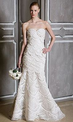 Free crochet patterns and video tutorials how to crochet wedding free crochet patterns and video tutorials how to crochet wedding dress pattern tutorial crochet pinterest crochet wedding dress pattern crochet junglespirit Image collections