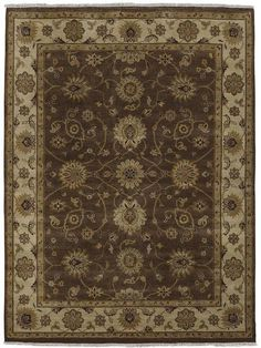 6f5d69c5e56b Amer Oasis RA-2 Chocolate/Beige Area Rug – Incredible Rugs and Decor Oasis