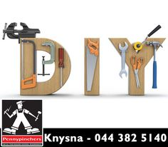 Before tackling a household fix-it project, make sure you have the right gear and tools on hand. Visit #PennypinchersKnysna for our great selection of #diy tools.