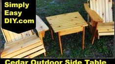 How To Woodworking Books Adirondack Furniture, Outdoor Furniture Sets, Outdoor Decor, Outdoor Side Table, Woodworking Books, Table Plans, Challenges, How To Plan, Hope Chest