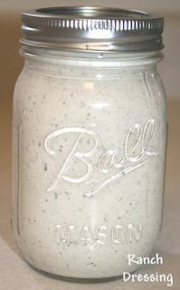 """Healthy """"Ranch"""" Dressing Recipe--whole jar is 255 calories! 1 cup Dannon Oikos Plain Greek Yogurt 1 packet Hidden Valley Ranch Mix cup milk Whisk together & chill 1 hour before use. Healthy Snacks, Healthy Eating, Healthy Recipes, Yogurt Recipes, Skinny Recipes, Clean Eating, Sauce Dips, Sauce Recipes, Great Recipes"""