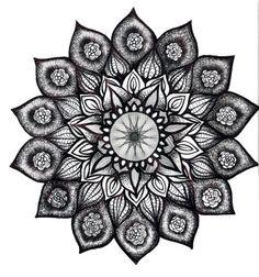 lotus mandala tattoo- spirit, balance, eternity, spring, rebirth, creation and blossoming