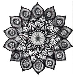 lotus mandala tattoo- spirit, balance, eternity,  spring, rebirth, creation and blossoming