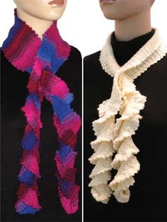 Frill Seeker Scarves Pattern Pack for purchase