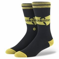 Stance | Wu Tang Black, Yellow socks | Buy at the Official website Main Website.