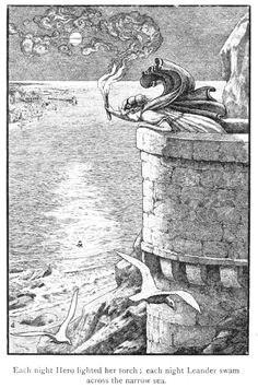 Art by Frank C. Pape (1908) from the book, CHILDREN OF THE DAWN.