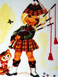 Bagpipes...and sweet little catholic children who attend and graduate from Presbyterian Colleges...