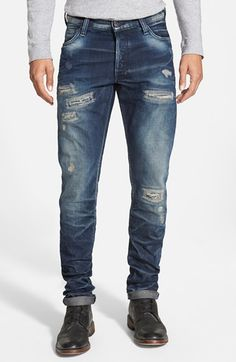 PRPS 'Fury - Climbing Aster' Slim Fit Jeans (Indigo) available at #Nordstrom